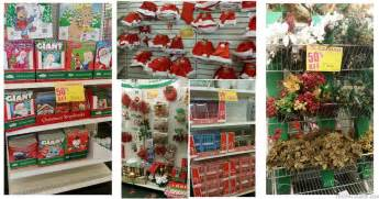 hot dollar tree christmas clearance 50 off decor candy christmas cards and more