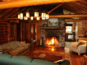 Rustic Fireplace Tools by Waterfront Log Home On Quiet Lake In The Homeaway