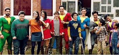 Shazam Cast Marvel Actores Reblog Dc Asher