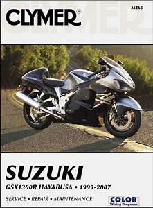 Suzuki Gsx1300r Hayabusa Repair Manual 1999-2007