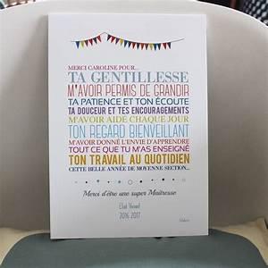 Idee Cadeau Pour Remercier Une Nounou : affiche merci ma tresse merci ma tre enti rement personnalisable format a4 21 x 29 7 ~ Dallasstarsshop.com Idées de Décoration