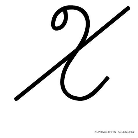 printable cursive alphabets uppercase alphabet