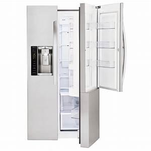 Side By Side Design : lg stainless steel side by side refrigerator lsxs26366s ~ Bigdaddyawards.com Haus und Dekorationen