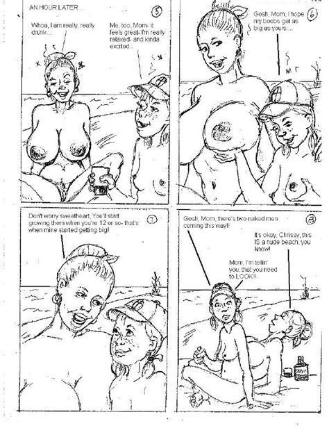 Lizzies Naked Adventures Comics