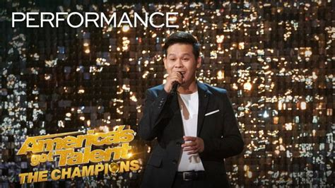 marcelito pomoy americas  talent agt champions