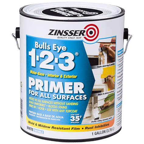 primer zinsser water 123 bulls eye based stain base oil paint sealer blocking sealers prime rustoleum wood painting shellac fast