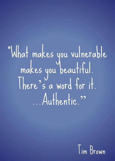 vulnerable   beautiful