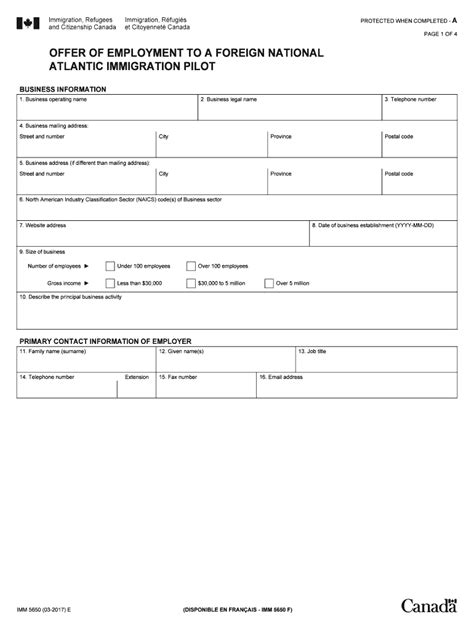 You're comfortable doing your taxes yourself. 2017 Form Canada IMM 5650 E Fill Online, Printable, Fillable, Blank - PDFfiller
