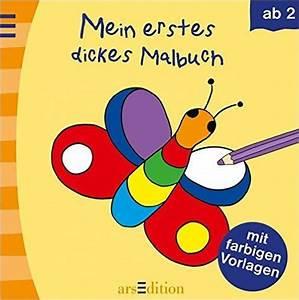 Mein Erstes Dickes Malbuch Barbara Gerlach Ab 2 Jahre Lt