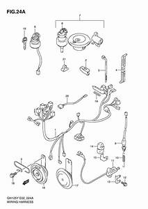 Wiring Harness For 2001 Suzuki Gn125