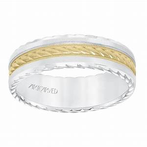 Billig Jewelers ArtCarved ArtCarved Men39s Wedding Band