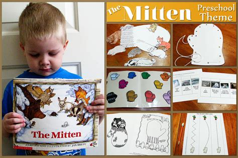 s helper the mitten preschool theme 534 | themittentheme