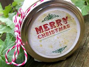 vintage christmas canning jar label customer ideas With christmas canning labels