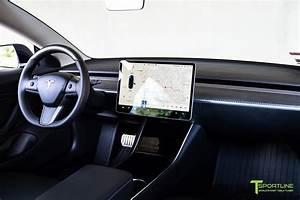 Tesla Model 3 Matte Carbon Fiber Dashboard Dash Panel by T Sportline 1 - T Sportline - Tesla ...