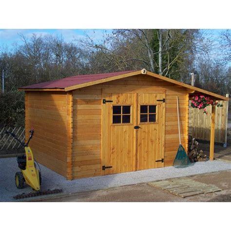 abri de jardin en bois emboit 233 avec b 251 cher vendee livr 233 et mont 233