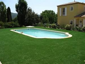 installation d39un gazon synthetique autour d39une piscine a With gazon synthetique autour d une piscine