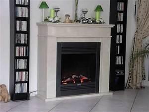 Elektrischer Kaminofen Mit Täuschend Echter Flamme : elektrokamine marmor naturstein elektrische kamine ~ Frokenaadalensverden.com Haus und Dekorationen