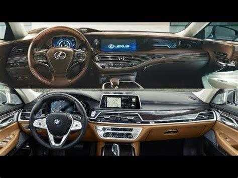 Lexus Is 2020 Bmw by 2020 Bmw 7 Series Vs 2019 Lexus Ls