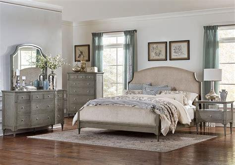 driftwood bedroom furniture albright driftwood gray upholstered bedroom set from 11484 | 1717 1 32 source 1