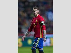 Sergio Ramos Photos Photos Spain v Israel FIFA 2018