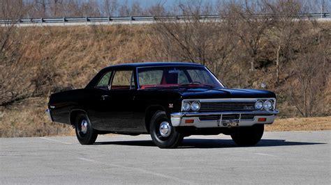 1966 Chevrolet Biscayne L72 Sedan  F236  Indy 2014