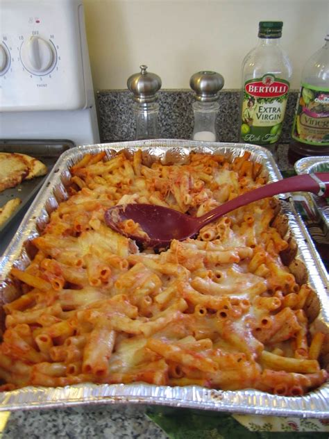 easy delicious  cheap baked ziti foodgazm