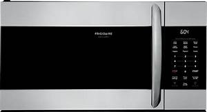 User Manual Frigidaire Fgmv17wnvf Gallery 1 7 Cu  Ft  Over