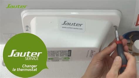 chauffe eau sauter changer le thermostat 233 lectronique du chauffe eau sauter horizontal