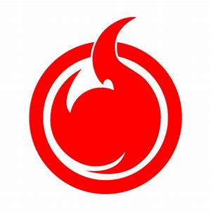 Hell Girl fire symbol vector logo free download