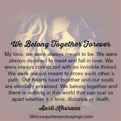 Be Together Forever Quotes