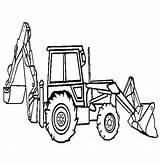 Digger Coloring Backhoe Loader Pages Excavator Peterbilt Tonka Drawing Truck Hoe Dump Printable Outline Sketch Clipart Template Getdrawings Getcolorings Trucks sketch template