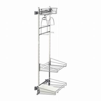 Ikea Cleaning Utrusta Rack Pull Supplies Kitchen