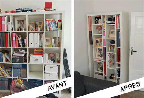 Transformation Bibliothèque Ikea Expedit En étagères Design