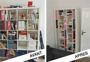 Bibliotheque Etagere Ikea : transformation biblioth que ikea expedit en tag res design ~ Melissatoandfro.com Idées de Décoration
