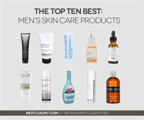 Top 10 Best Men's Skin Care Products For 2020 | Top skin