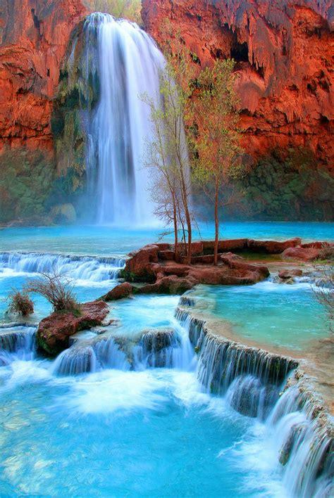 Waterfalls Near Grand Canyon Havasu Falls Near The Grand