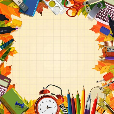 School Wallpaper Backgrounds Group - Clip Art Library