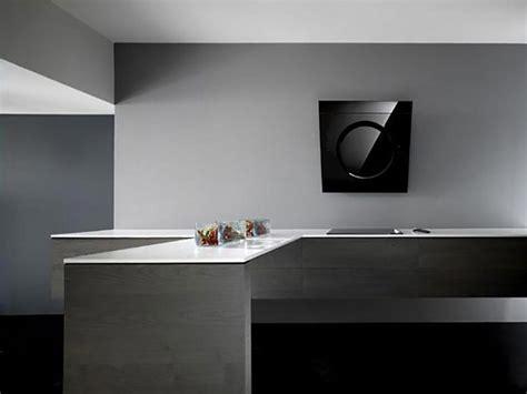 hotte cuisine moderne etonnante hotte de cuisine au design unique signé elica