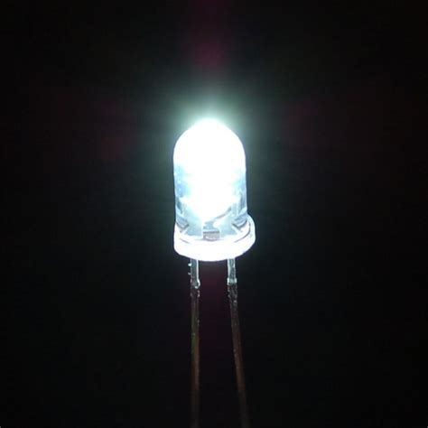 super bright white 5mm led corzotech