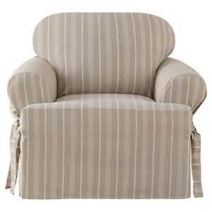 sure fit grainsack t chair slipcover linen target