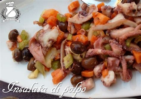 polpo insalata sedano insalata di polpo con sedano carote ed olive gran