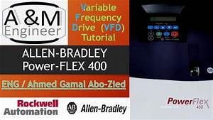 Power Flex 400 Variable Frequency Drive  Vfd User Manual