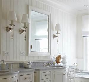 15 beadboard backsplash ideas for the kitchen bathroom With bead board in bathroom