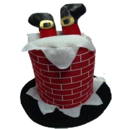musical christmas chimney hat christmas decoration