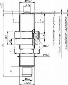Egm12sam3c1868 Precision Single Hole Fixing Limit Switch