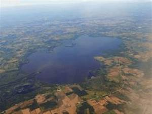 Aerial View Of Lake Koshkonong  Unknown Photographer