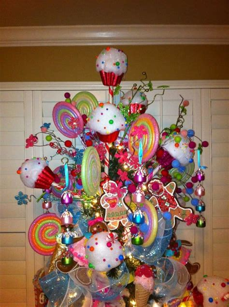 candy christmas trees trees  candy  pinterest