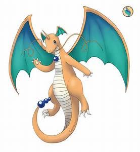 Mega Dragonite by Serenyan on DeviantArt