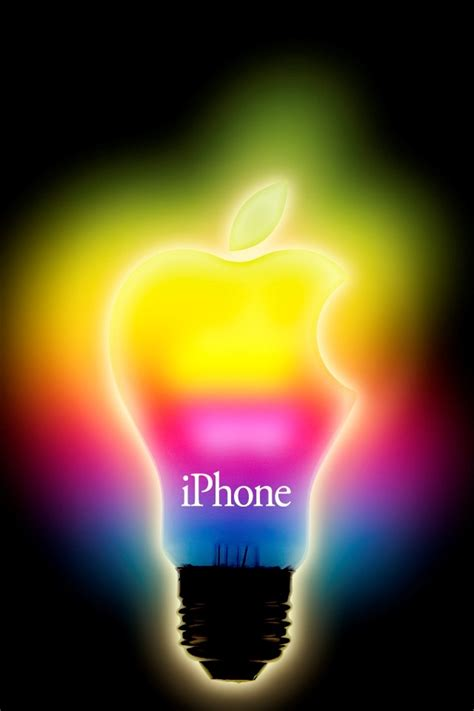 screensavers for iphone color cool bulb apple iphone 4 wallpapers free 640x960 hd