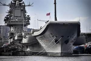 Chaos As Russia's Aircraft Carrier Admiral Kuznetsov ...